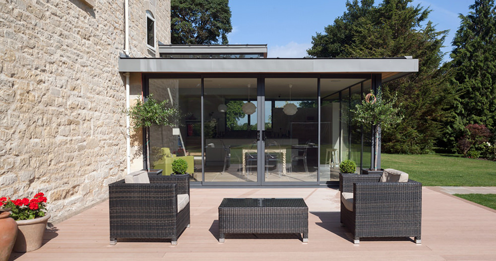 Aluminium doors prices Cheshire